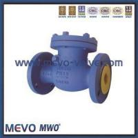 Buy cheap DIN Cast Steel and Stainless Steel F4 F5 F7 Type Swing Check Valve from wholesalers