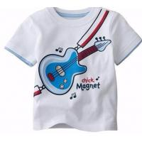Buy cheap Customized White Cute Printing 100%Cotton Kid′s T Shirt (KY-T080) from wholesalers