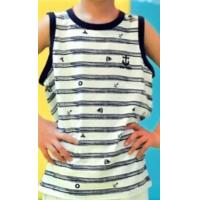 Buy cheap 2014 New Style Fashion Custom Sleeveless Printed T-Shirt (YHR-13162) from wholesalers