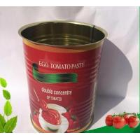 Buy cheap Green Food 400g*24tins Wholesale Canned Tomato Paste product