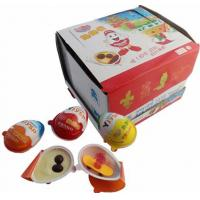 Buy cheap Surprise chocolate egg with toy white chocolate candy coated chocolate beans from wholesalers