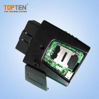 Buy cheap Global Stolen GPS Fleet Vehicle Tracking With OBD Plug Into Car from wholesalers