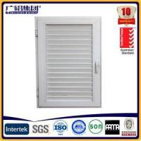 Aluminium Louver Shutter Windows with Fixed Panel or Opening Panel for Air Condition Location
