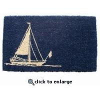 Buy cheap Sailboat Hand Woven Doormat from wholesalers