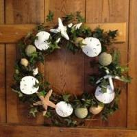 Buy cheap Seashell Wreaths for Coastal Accent from wholesalers