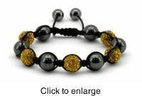 Buy cheap Amber Shamballa Magnetic Bracelet, Serenity 2000 from wholesalers