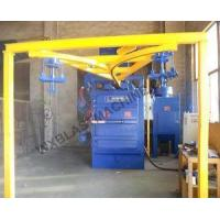 Buy cheap Hook, Track, Tunnel, Hanger Type Shot Blasting Machines ,high Efficiency And Easy Operation from wholesalers