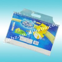 Buy cheap Color print bag and disposable convenience with re-seal tapes for diaper product