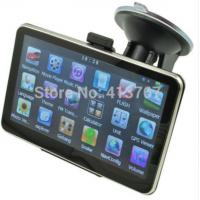 Buy cheap 5 Inch Auto Car GPS Navigation Sat Nav 4GB latest Maps WinCE 6.0 FM support Multi-languages from wholesalers