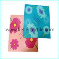 Buy cheap Customized Printed Microfiber Glasses Cleaning Cloth from wholesalers