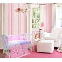 Buy cheap Nursery Decor Butterfly 4-piece Baby Bedding Sets For Girls Factory Price Hot Sale from wholesalers