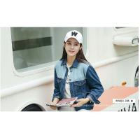 Buy cheap Ladies Leisure Navy Denim Jacket from wholesalers