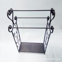Buy cheap Bronze Metal Free Standing Towel Rack from wholesalers
