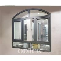 Buy cheap 56 Series Arch Shape Swinging Out Opening Window With Manual Blinds(Thermal Break) from wholesalers