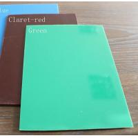Buy cheap PS Plastic Sheet PS board - blue - wine red - green from wholesalers