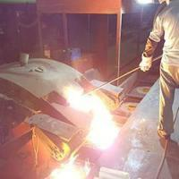 Buy cheap Steel shell furnace (with cyclone dust collector) from wholesalers