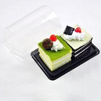 Buy cheap 100 BPA-Free Containers Mini Roll Cakes Small Desserts Bake Sale Rectangle Base from wholesalers