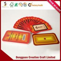 Buy cheap OEM Customized Bridge Size Promotional Cheap Playing Cards Printing from wholesalers