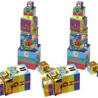 Buy cheap 10 Piece Alphabet Nesting and Stacking Blocks from wholesalers