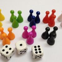 Buy cheap Plastic Board Game Pieces Pawns and Tokens from wholesalers