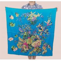Buy cheap Custom Design High Quality 100% Silk Satin Scarf from wholesalers