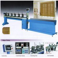Buy cheap Full Automatically Machine For Cutting Punching Threading Wooden Slats Of Venetian Blinds from wholesalers