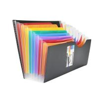 Buy cheap PP Expanding File with Rainbow Pocket from wholesalers
