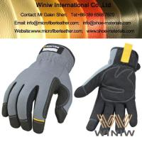 Buy cheap Amara Suede Microfiber Synthetic Leather for Sports Gloves from wholesalers