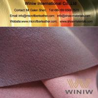 Buy cheap Highest Quality PU Faux Pigskin Leather Lining for Shoes from wholesalers