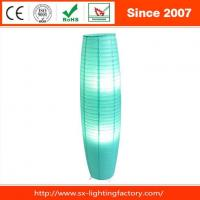 Buy cheap Fashional Folding White Or Green Paper Adjustable Indoors Floor Lamp from wholesalers