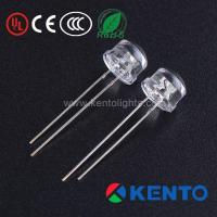 Buy cheap 2Pin Dip 5Mm Straw Hat Clear Red LED Light Emitting Diodes from wholesalers