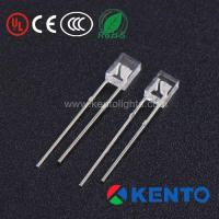 Buy cheap Rectangle 2X3X4mm Water Clear Lens Red Green Yellow Purple Blue LED Diode from wholesalers