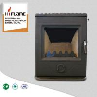 Buy cheap HiFlame Modern Design Cast Iron Wood Burning Fireplace Insert with Steel Body HF357i from wholesalers