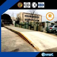 Buy cheap 80 Ton Commercial Semi Air Weigh Truck Scales Weighbridge Price from wholesalers