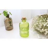 Buy cheap 250ml Zakka Carved Glass Bottle Used for Home Fragrance Reed Diffuser or Home Decoration from wholesalers