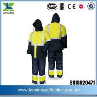 Buy cheap Health And Safety Compliant Work Jackets Winter Men Jackets Bear Deep Freezing Temperature from wholesalers