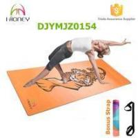 Buy cheap Premium Rubber Yoga Mat with Carry Strap non slip machine washable from wholesalers
