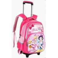 Buy cheap Girls School Bag With Wheels Rolling Backpack For Kid from wholesalers