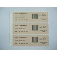 Buy cheap Shoes diagram label from wholesalers