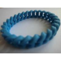 Buy cheap Hemp flowers silicone bracelet from wholesalers