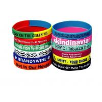 Buy cheap Factory direct cheapest silicone bracelets, PVC bracelet wrist strap soft hand ring from wholesalers