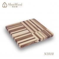 Buy cheap High Quality Food Safe Square Walnut Wood Chopping Board With Handle Hole from wholesalers