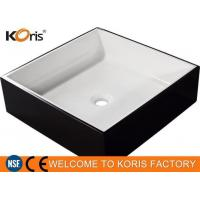 Buy cheap Fancy New Design LG Solid Resin Wash Hand Basin from wholesalers