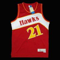 Buy cheap china Atlanta Hawks Dominique Wilkins #21 Hardwood Classics Jersey from wholesalers
