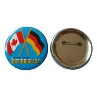 Buy cheap Cheap Flags Printing Tin Button Badge from wholesalers