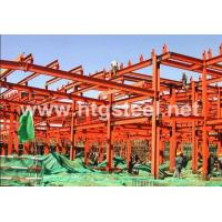 Buy cheap Precision Fabricated Lightweight Steel Truss, Truss Span Structural Steel Frame Workshop for Sale from wholesalers
