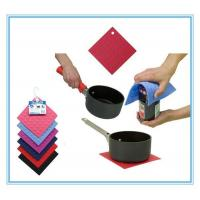 Buy cheap Custom Silicon Rubber Pot Holder Silicon Handle from wholesalers