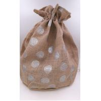 Buy cheap Jute Christmas Bags Food Grade Natural With Printed from wholesalers