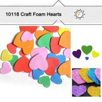 Buy cheap Craft Foam Heart Die Cut Out Shapes for Kids Crafts from wholesalers