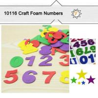 Buy cheap EVA Foam Alphabet Numbers for DIY Kids Arts and Crafts product